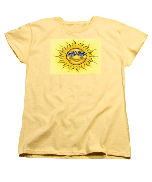 Sunny Women's T-Shirt (Standard Cut) by Kevin Middleton