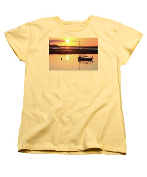 Sunrise At Bass River Women's T-Shirt (Standard Cut) by Roupen  Baker