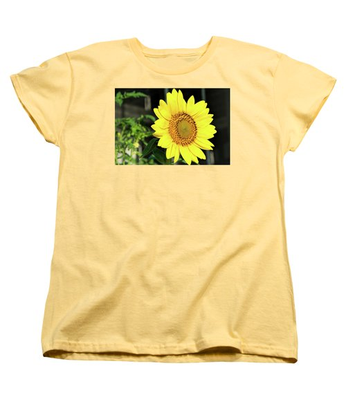 Sun's Up Women's T-Shirt (Standard Cut) by Ed Waldrop