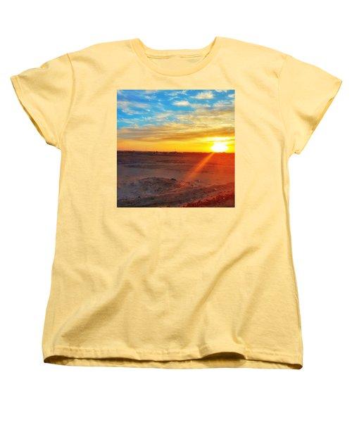 Sunset In Egypt Women's T-Shirt (Standard Fit)