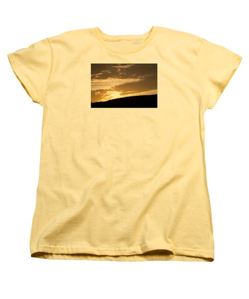 Sunset On Hunton Lane #4 Women's T-Shirt (Standard Cut) by Carlee Ojeda