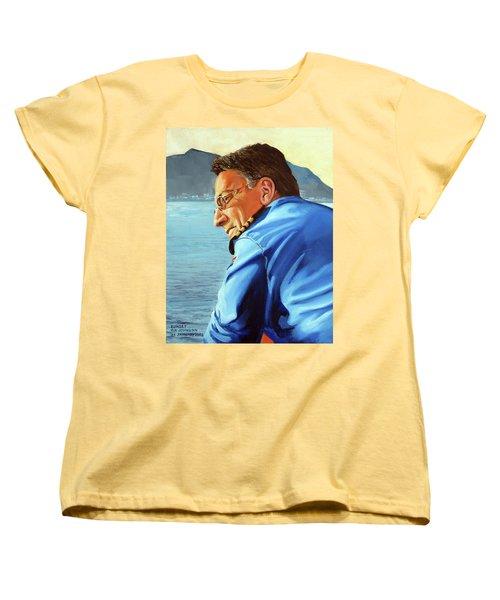 Sunset Women's T-Shirt (Standard Cut) by Tim Johnson