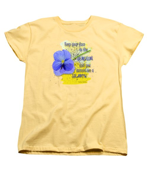 Sunshine Women's T-Shirt (Standard Cut) by Larry Bishop