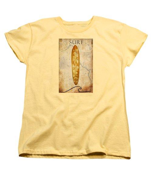 Surf 2 Women's T-Shirt (Standard Cut)