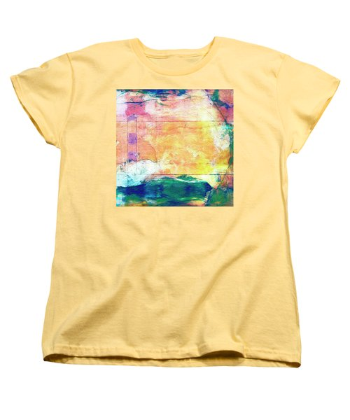 Women's T-Shirt (Standard Cut) featuring the painting Surface Vector by Dominic Piperata