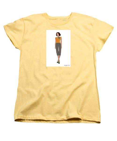 Women's T-Shirt (Standard Cut) featuring the digital art Susan by Nancy Levan