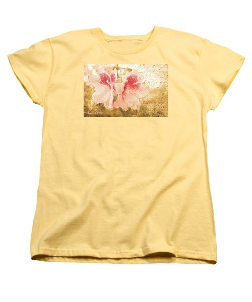 Women's T-Shirt (Standard Cut) featuring the photograph Sutle Harmony by Bonnie Willis