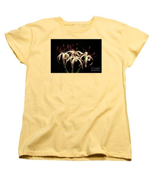 Swamp Lily Women's T-Shirt (Standard Cut) by Meg Rousher