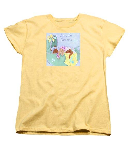 Sweet Dreams Women's T-Shirt (Standard Cut) by Tracy Campbell