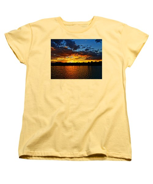 Women's T-Shirt (Standard Cut) featuring the photograph Sweet End Of Day by Eric Dee