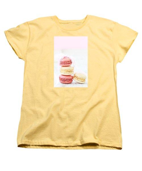 Sweet French Macarons Women's T-Shirt (Standard Cut)