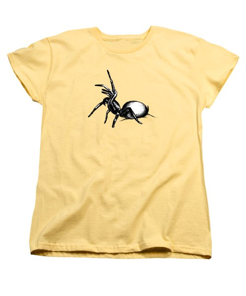 Sydney Funnel Web Women's T-Shirt (Standard Cut) by Nicholas Ely
