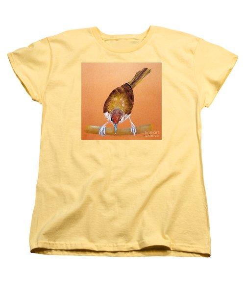 Tailor Bird Women's T-Shirt (Standard Cut) by Jasna Dragun