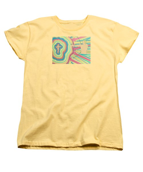 Target Women's T-Shirt (Standard Cut) by Erika Chamberlin