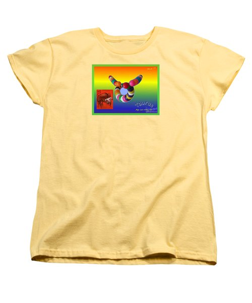 Women's T-Shirt (Standard Cut) featuring the painting Taurus by The Art of Alice Terrill