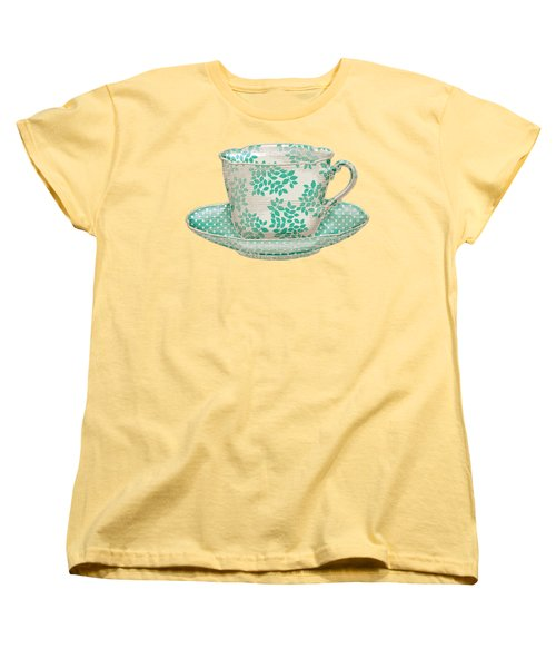 Teacup Garden Party 1 Women's T-Shirt (Standard Cut) by J Scott