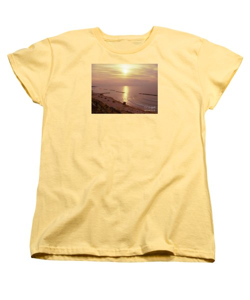 Tel Aviv Beach Morning Women's T-Shirt (Standard Cut) by Gail Kent