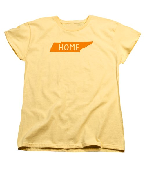Tennessee Home Orange Women's T-Shirt (Standard Cut) by Heather Applegate