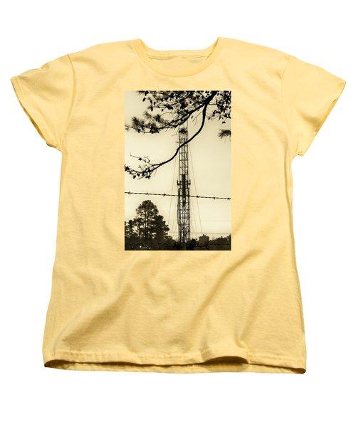 Texas Tea Women's T-Shirt (Standard Cut) by Betty Northcutt