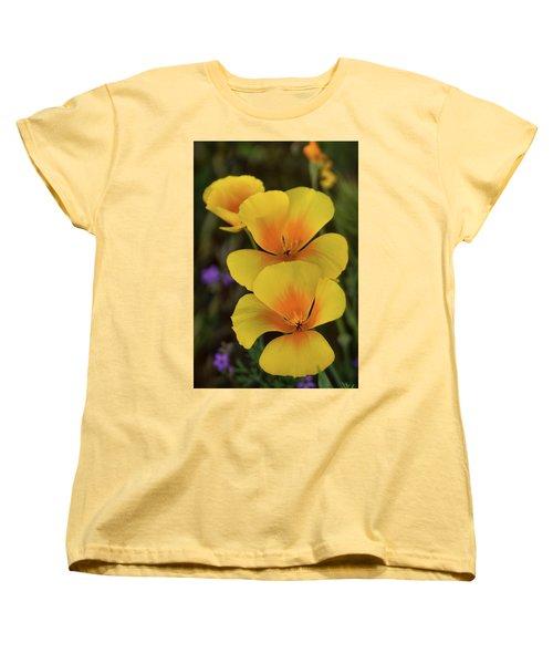 Women's T-Shirt (Standard Cut) featuring the photograph That Golden Spring Glow  by Saija Lehtonen