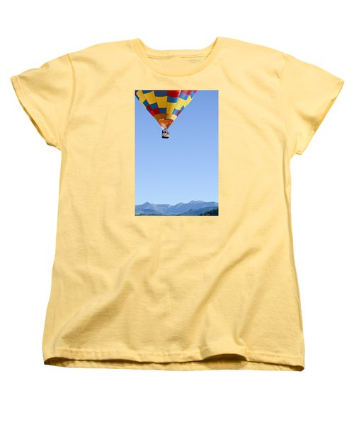 Women's T-Shirt (Standard Cut) featuring the photograph The Air Up There... by Kevin Munro