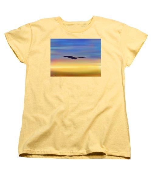 The Art Of Flying Women's T-Shirt (Standard Cut) by Bernd Hau