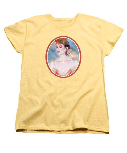 The Avian Dream - Self Portrait Women's T-Shirt (Standard Cut) by Jaeda DeWalt