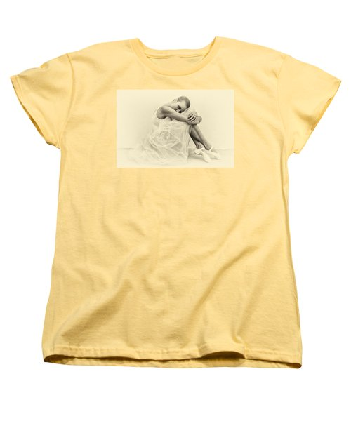 Le' Ballerina Women's T-Shirt (Standard Cut) by Swank Photography