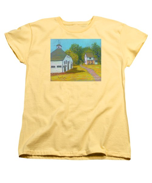The Barn At Uniacke House  Women's T-Shirt (Standard Cut) by Rae  Smith