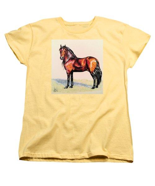 The Baroque Bay Women's T-Shirt (Standard Cut) by Cheryl Poland