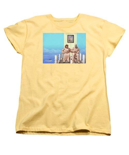 The Cadburys On Vacation Women's T-Shirt (Standard Cut) by Marty Garland
