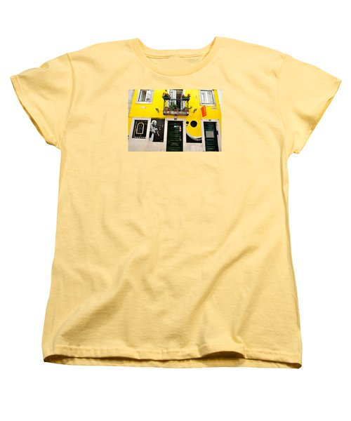Women's T-Shirt (Standard Cut) featuring the photograph The Colorful Bar by Marwan Khoury