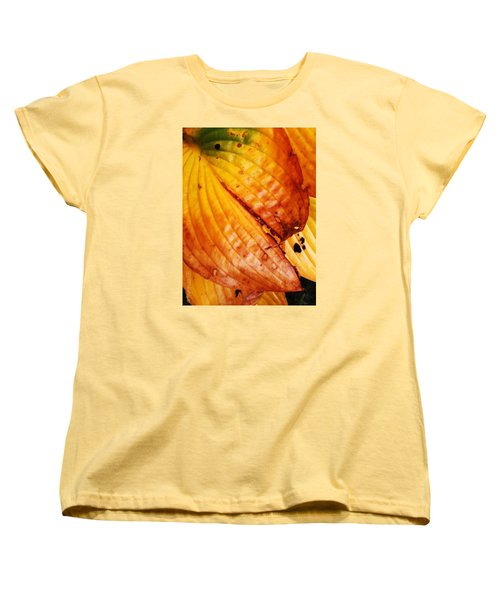 The Colors Of Autumn Women's T-Shirt (Standard Cut) by Mimulux patricia no No