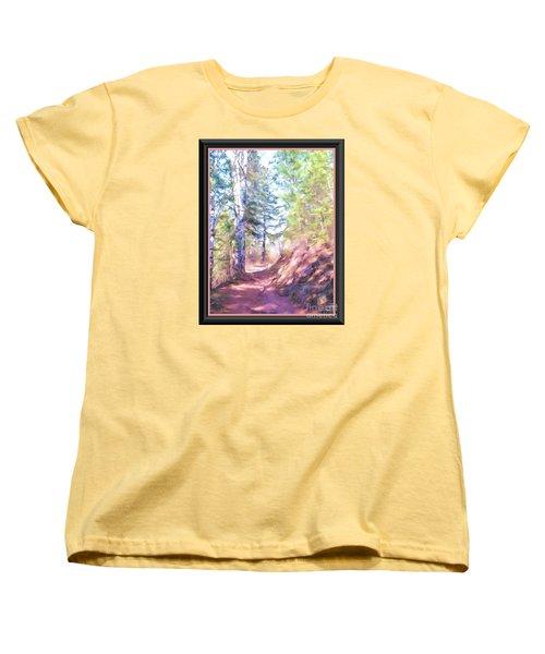 The Copper Path Women's T-Shirt (Standard Cut) by Shirley Moravec