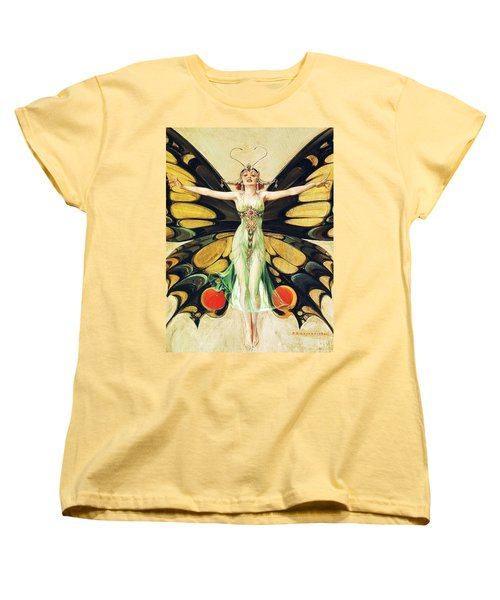 The Flapper Women's T-Shirt (Standard Cut) by Pg Reproductions