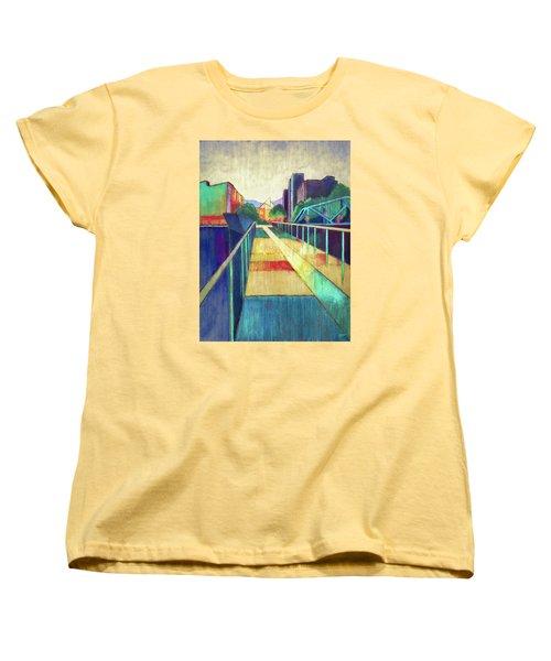 The Glass Bridge Women's T-Shirt (Standard Cut) by Steven Llorca