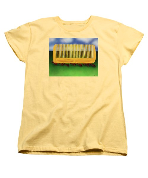 The Great Escape Women's T-Shirt (Standard Cut) by Thomas Blood