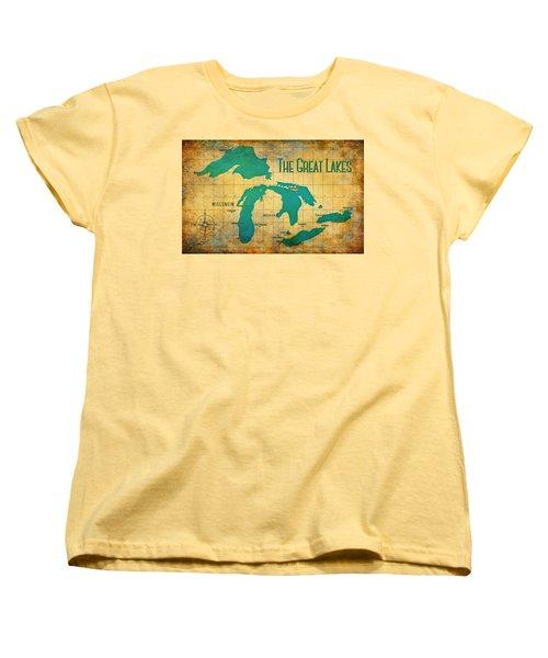 The Great Lakes Women's T-Shirt (Standard Cut)