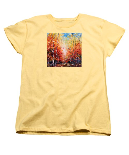 The Joy Ahead Women's T-Shirt (Standard Cut) by Meaghan Troup