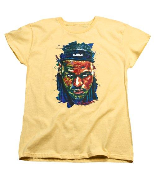 The Lebron Death Stare Women's T-Shirt (Standard Cut)