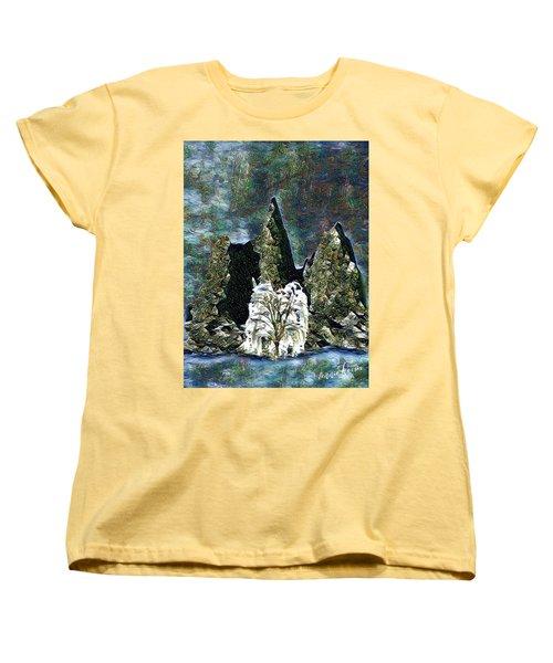 The Loneliest Tree Women's T-Shirt (Standard Cut) by Vennie Kocsis