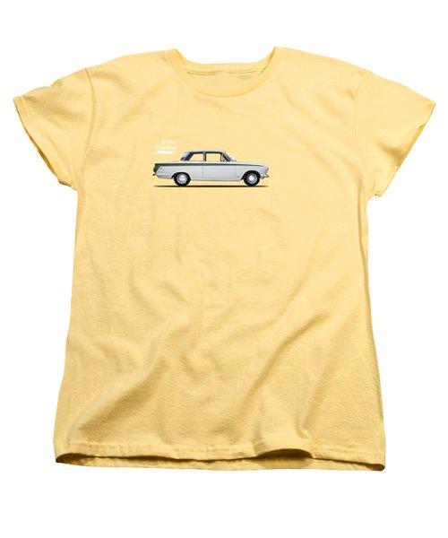 The Lotus Cortina Women's T-Shirt (Standard Cut) by Mark Rogan