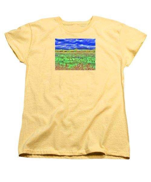 The Marshlands Women's T-Shirt (Standard Cut) by B Wayne Mullins
