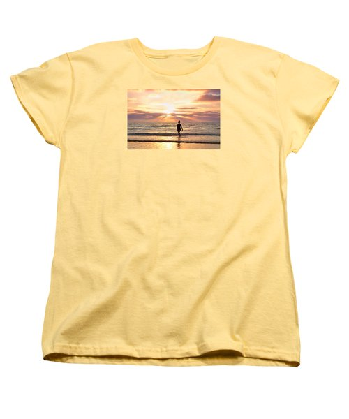 Women's T-Shirt (Standard Cut) featuring the photograph The Mermaid by Rima Biswas