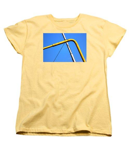 Women's T-Shirt (Standard Cut) featuring the photograph The Mile High Meetup  by Prakash Ghai