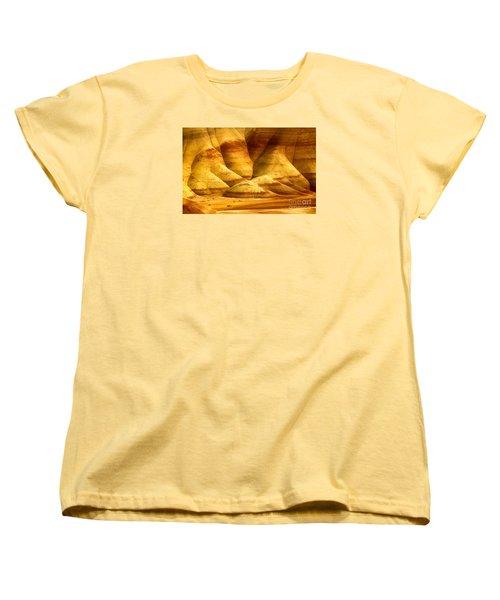 The Painted Hills Women's T-Shirt (Standard Cut) by Michael Cinnamond
