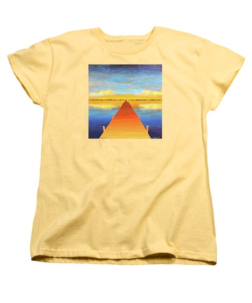 The Pier Women's T-Shirt (Standard Cut) by Thomas Blood