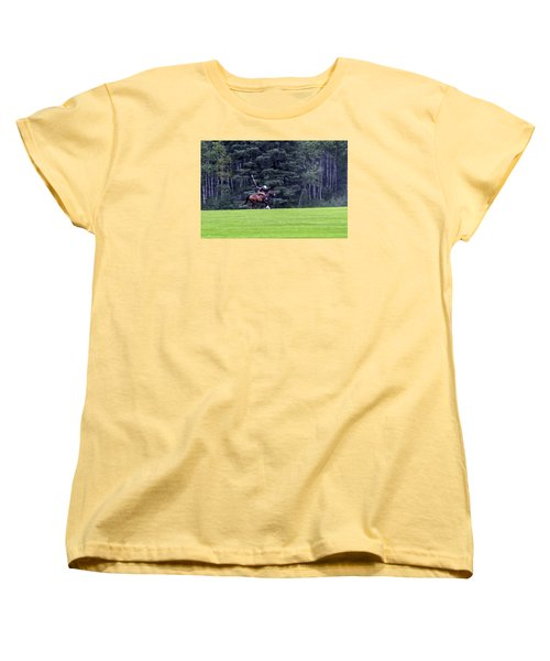 The Player Women's T-Shirt (Standard Cut) by Keith Armstrong
