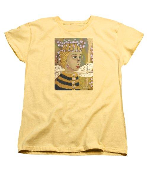 The Queen Bee's Honeycomb Women's T-Shirt (Standard Cut)