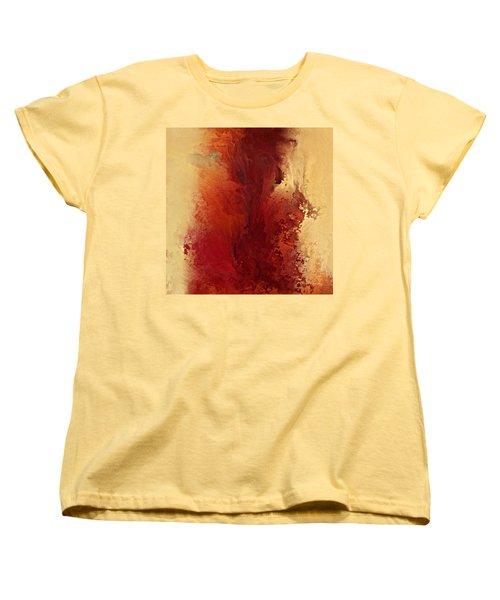 The Road To Emmaus. Luke 24 32 Women's T-Shirt (Standard Cut) by Mark Lawrence